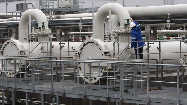 Największy w Europie Zachodniej magazyn gazu w północnych Niemczech - Sputnik Polska