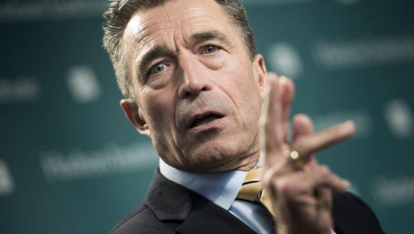 Były sekretarz generalny NATO Anders Fogh Rasmussen - Sputnik Polska