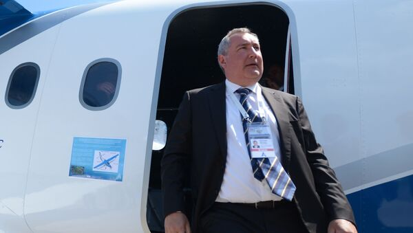 Dmitrij Rogozin. Zdjęcie archiwalne - Sputnik Polska