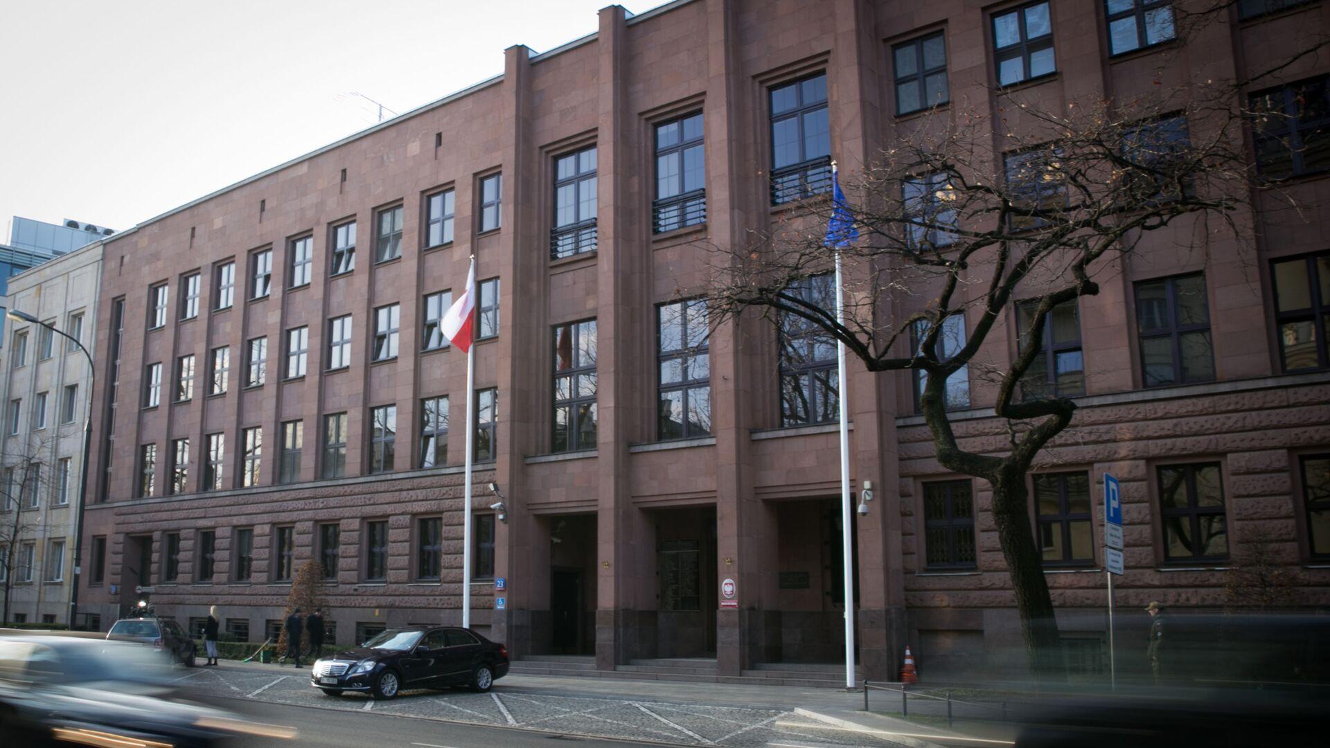 Siedziba MSZ Polski w Warszawie - Sputnik Polska, 1920, 29.09.2021
