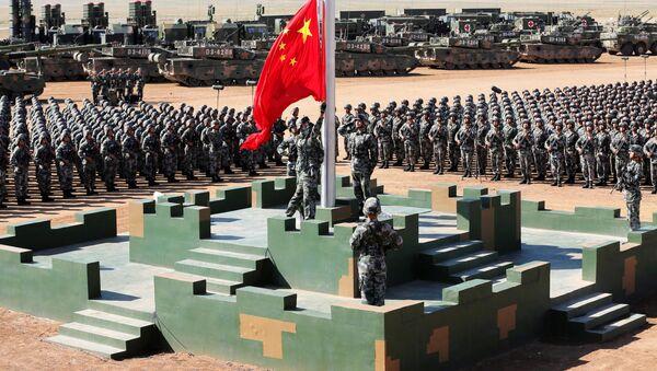 Parada w bazie wojskowej Zhurihe w prowincji Mongolia Wewnętrzna - Sputnik Polska