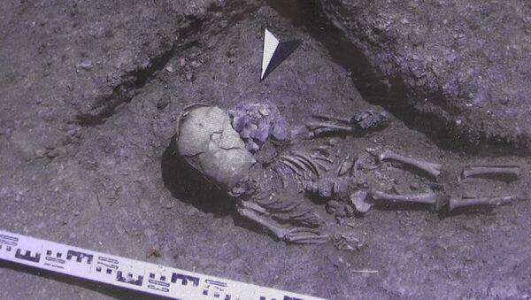 Na Krymie znaleziono szkielet chłopca z plemienia Sarmatów - Sputnik Polska