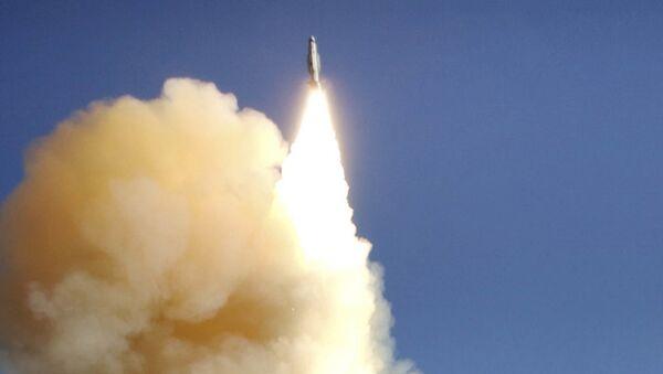 Start pocisku z użyciem amerykańskiego systemu Aegis - Sputnik Polska