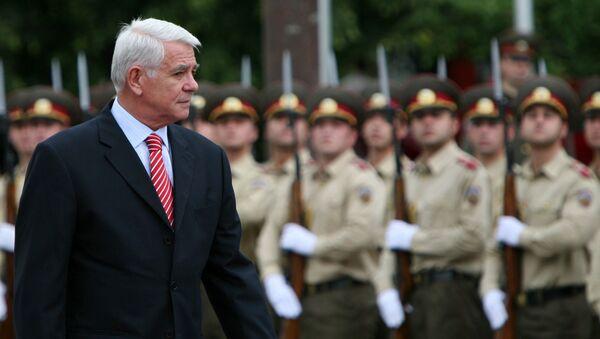 Minister spraw zagranicznych Rumunii Teodors Meleškanu - Sputnik Polska