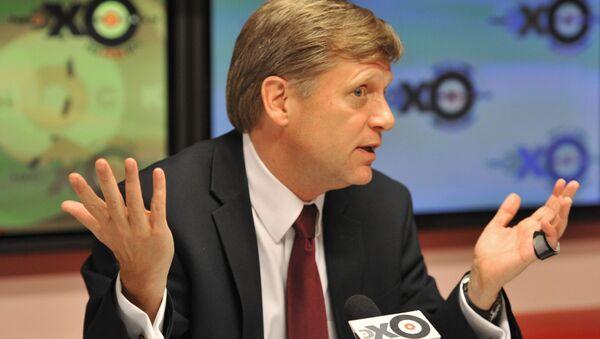 Michael McFaul, były ambasador USA w Rosji - Sputnik Polska