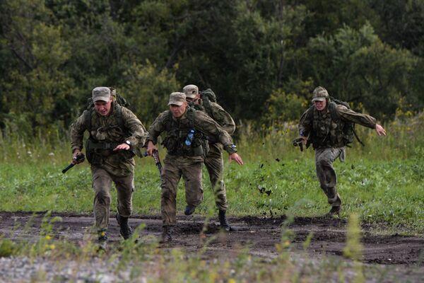 Konkurs Najlepszy zwiadowca  w ramach międzynarodowych gier militarnych 2017 - Sputnik Polska