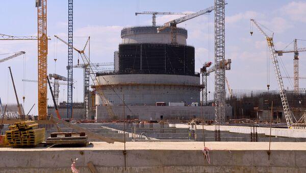 Budowa Białoruskiej Elektrowni Jądrowej w Ostrowcu - Sputnik Polska