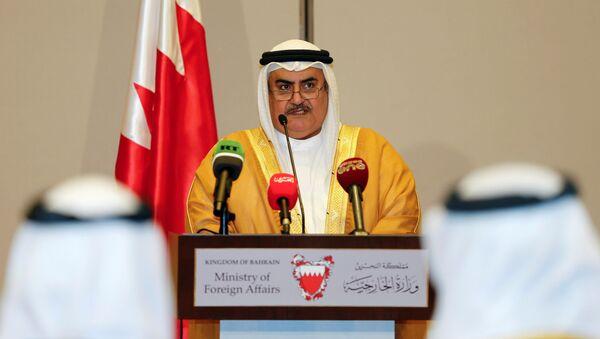 Minister spraw zagranicznych Bahrajnu Chalid ibn Ahmad ibn Muhammad al-Challifa - Sputnik Polska
