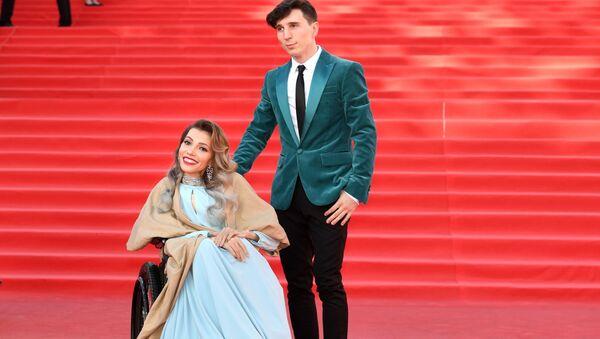 Julia Samojłowa z mężem - Sputnik Polska