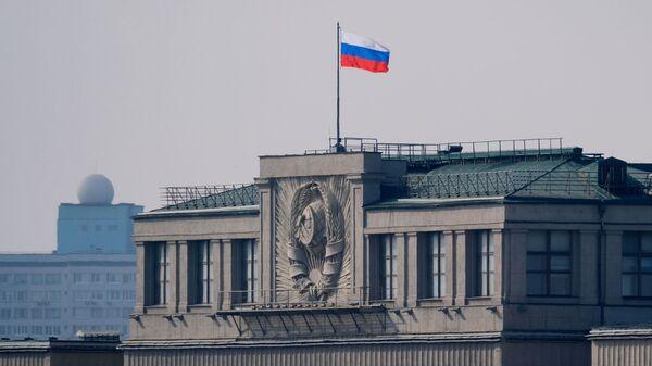 Siedziba Dumy Państwowej Rosji w Moskwie - Sputnik Polska
