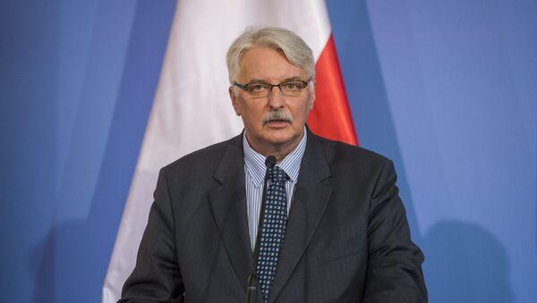 Minister spraw zagranicznych Polski Witold Waszczykowski - Sputnik Polska