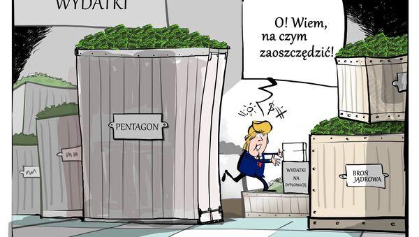 Oszczędności w Białym Domu - Sputnik Polska