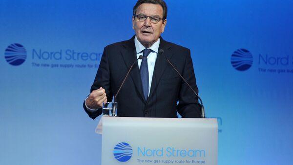 Przewodniczący Komitetu Akcjonariuszy Nord Stream AG Gerhard Schröder - Sputnik Polska