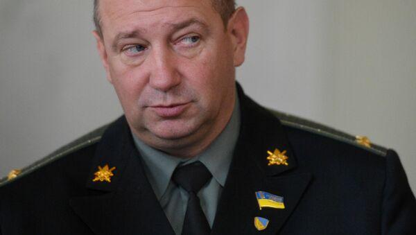 Deputowany Rady Najwyższej Ukrainy, były dowódca batalionu Ajdar Sierhij Mielniczuk - Sputnik Polska