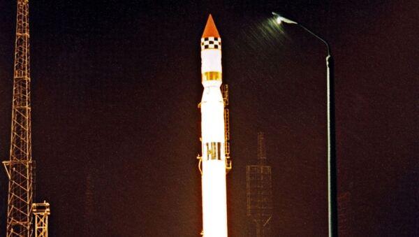 """Start rakiety nośnej """"Cyklon-3"""" na kosmodromie Plesieck - Sputnik Polska"""