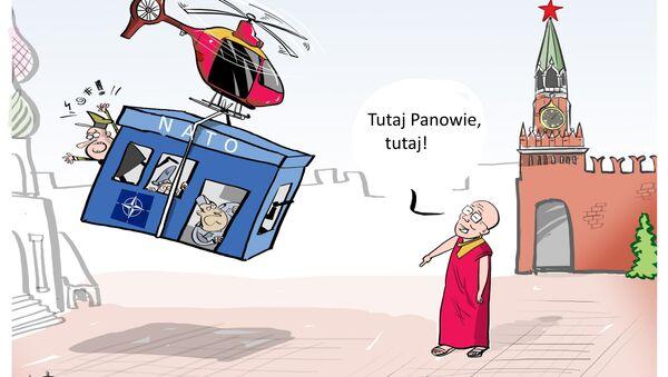 Dalajlama proponuje przeniesienie siedziby NATO do Moskwy - Sputnik Polska