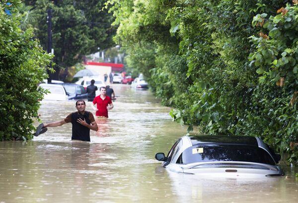 Powódź w Soczi - Sputnik Polska