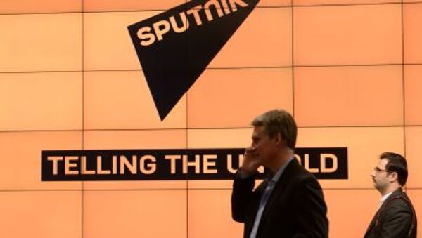 Logo agencji Sputnik - Sputnik Polska
