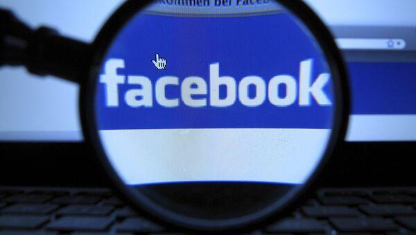 Facebook logo - Sputnik Polska