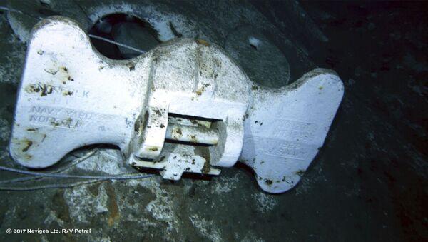 """Odnaleziono wrak amerykańskiego krążownika """"Indianapolis"""", który zatonął 30 lipca 1945 r. po storpedowaniu przez japoński okręt podwodny - Sputnik Polska"""
