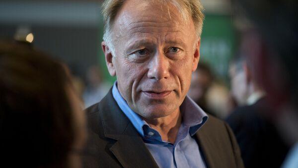 Niemiecki polityk Jürgen Trittin - Sputnik Polska