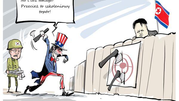 """Stany Zjednoczone i Korea Południowa rozpoczynają wspólne dziesięciodniowe ćwiczenia wojskowe o nazwie """"Ulchi-Freedom Guardian"""" (UFG), które wywołały rozdrażnienie w KRLD. - Sputnik Polska"""