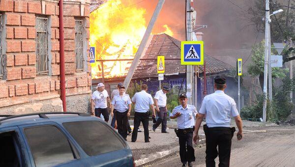 Pożar w Rostowie nad Donem - Sputnik Polska