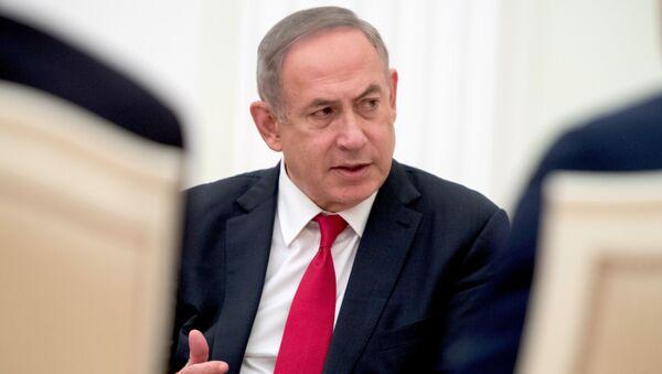 Premier Izraela Benjamin Netanjahu - Sputnik Polska