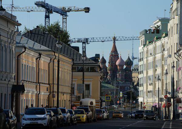 Ulica Bolszaja Ordynka w Moskwie - Sputnik Polska