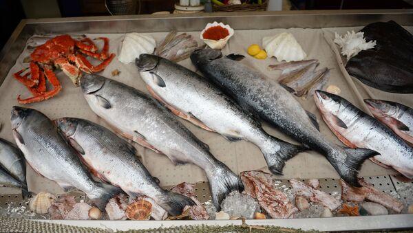 Rosyjskie ryby i owoce morza - Sputnik Polska