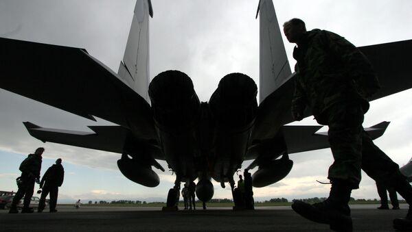 Amerykański myśliwiec F-15 Eagle - Sputnik Polska