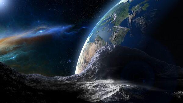 Asteroida kierująca się w stronę Ziemi - Sputnik Polska