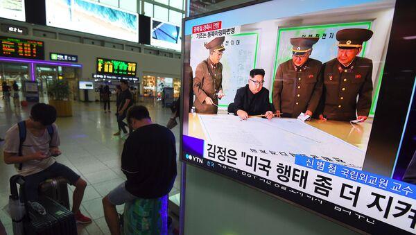 Dworzec w Seulu - Sputnik Polska
