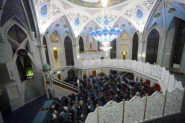 Święto Ofiarowania Kurban Bajram, Meczet w Kazaniu - Sputnik Polska