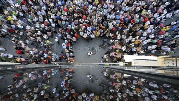 Akcje protestu - Sputnik Polska