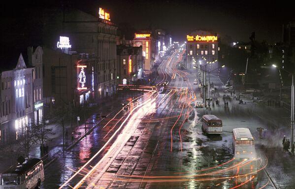 Władywostok wieczorem - Sputnik Polska