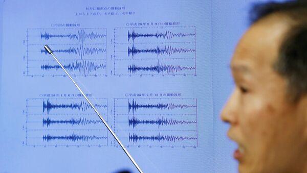 Podobne wstrząsy sejsmiczne towarzyszyły poprzednim północnokoreańskim próbom jądrowym - Sputnik Polska