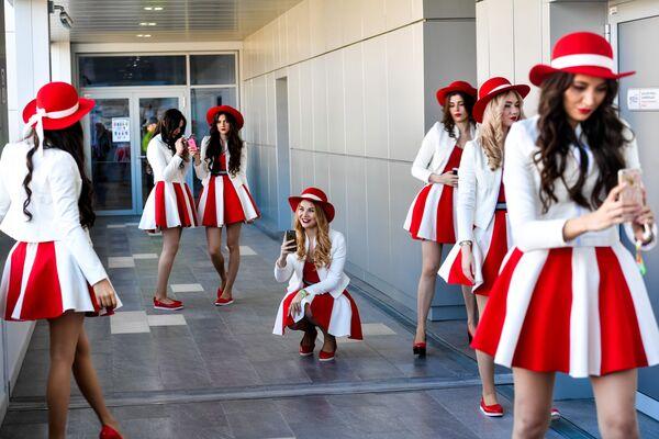 Hostessy podczas Mistrzostw Świata w Formule 1 - Sputnik Polska