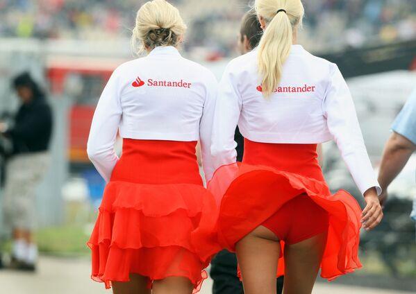 Hostessy podczas Grand Prix w Niemczech - Sputnik Polska