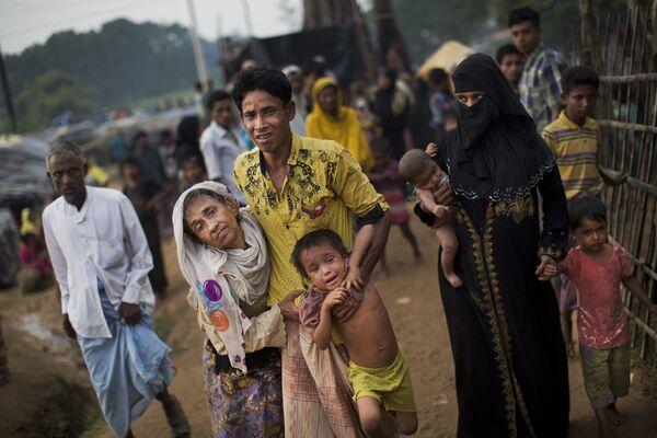 Uchodźcy Rohingya w Bangladeszu - Sputnik Polska