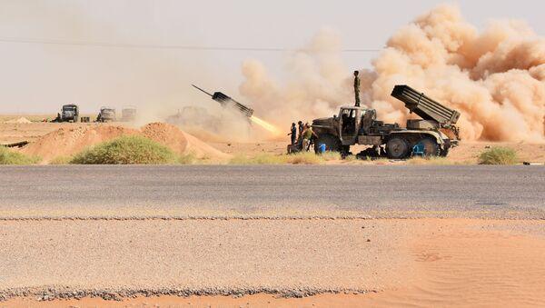 Syryjska armia rządowa przejęła kontrolne nad złożem ropy w pobliżu Dajr az-Zaur - Sputnik Polska