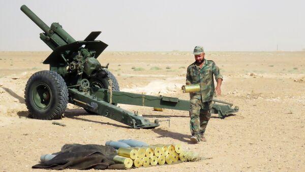 Konflikt zbrojny w Syrii - Sputnik Polska