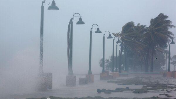 Huragan Irma w Portoryko - Sputnik Polska
