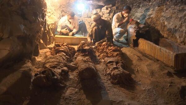 W Luksorze znaleziono mający ponad 3500 lat grób - Sputnik Polska