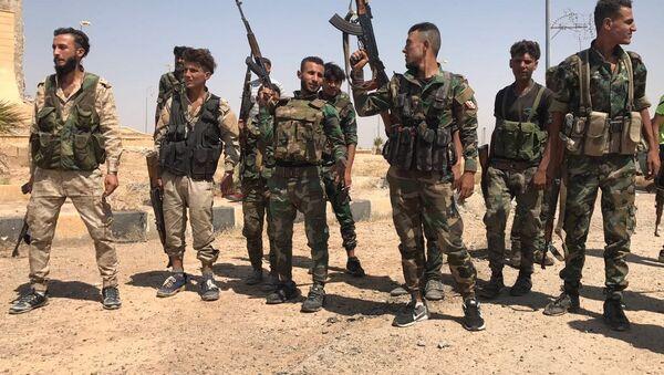 Syryjskie wojska przerwały pierścień okrążenia przy południowym wjeździe do Dajr az-Zaur - Sputnik Polska