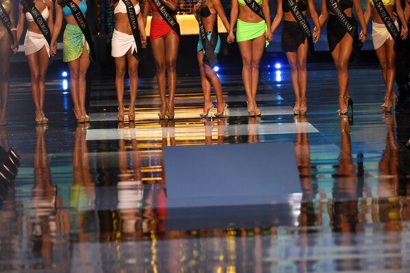 "Uczestniczki konkursu ""Miss America-2018"" - Sputnik Polska"
