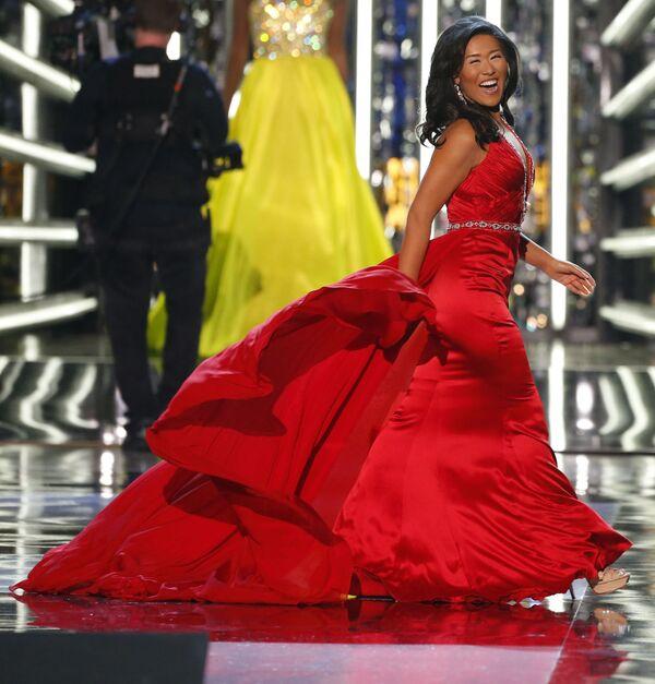"Uczestniczka konkursu ""Miss America-2018"" - Sputnik Polska"