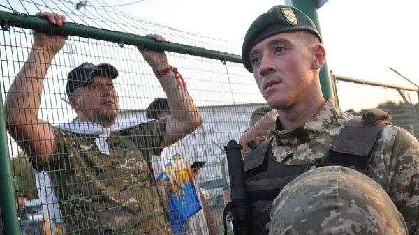 Ukraińsko-polska granica Szeginie - Sputnik Polska