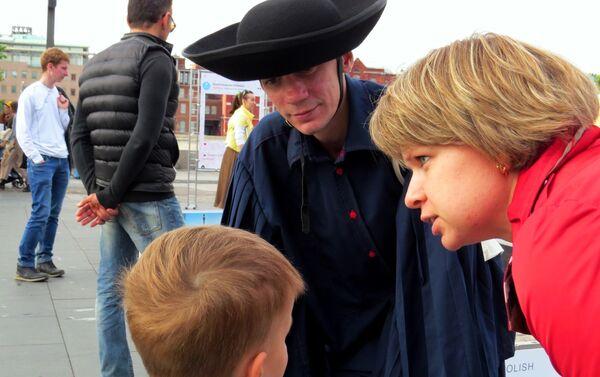Organizatorzy zadbali też o najmłodszych uczestników Festiwalu - Sputnik Polska