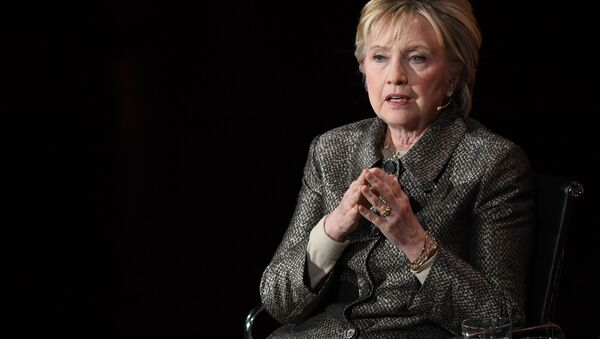 Amerykańska polityk Hillary Clinton - Sputnik Polska